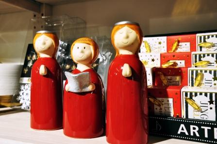 Weihnachtsdeko als Einstimmung für die bevorstehende Weihnachtszeit