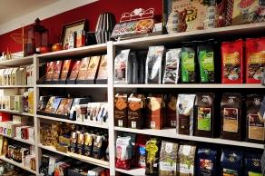 Für Kaffeeliebhaber: hier findet man viele verschiedene Kaffeeraritäten