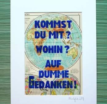 Für alle, die das Fernweh auf Papier gedruckt auch in den eigenen vier Wänden nicht missen wollen. Bildrechte: Susanne Kauth