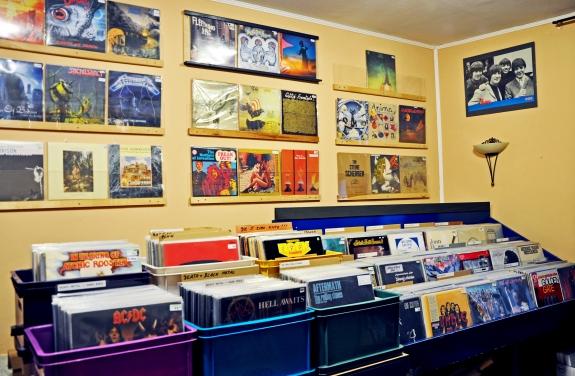 Von Beat über Rock`n`Roll bis Psychedelic - der Laden in der Regensburger Altstadt hat (fast) alles.
