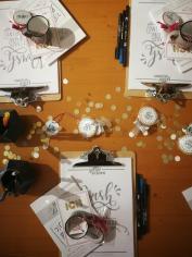 Kreative Arbeit auf Papier zu kaufen
