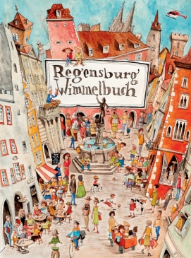 Regensburg Wimmelbuch Cover