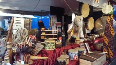 Christkindlmarktstand am Lukrezia-Markt