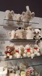 Kuscheltiere aus Schafswolle