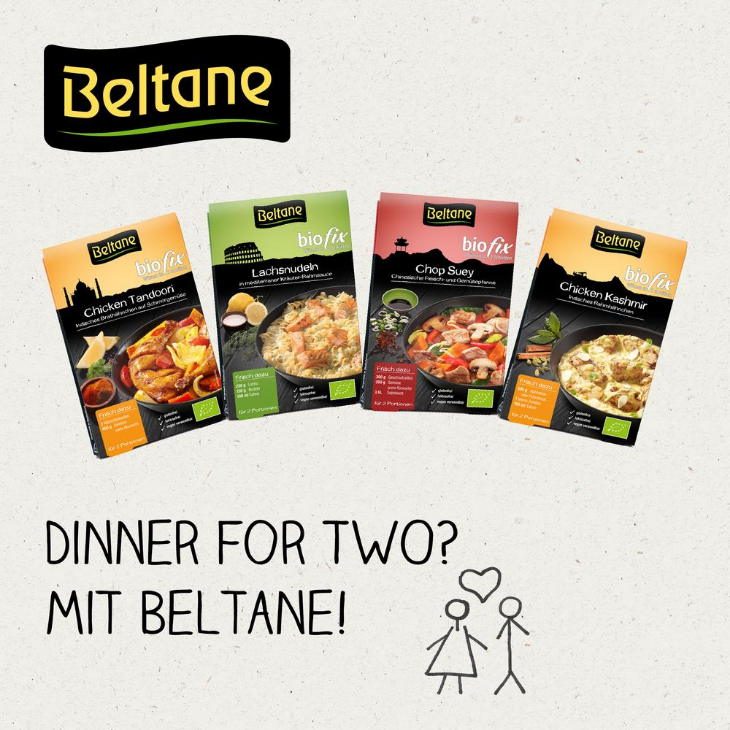 Jetzt Dinner for Two-Biofixe bestellen